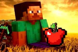 Minecraft Apple Shoot