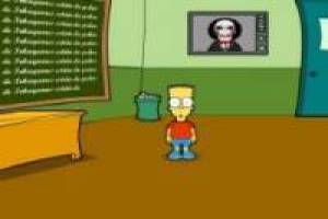 Homer Saw Game Kitchen And Living Space Interior