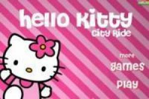 Hello Kitty: Paseo en bicicleta