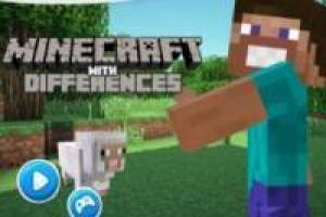Minecraft: Encontrar diferencias