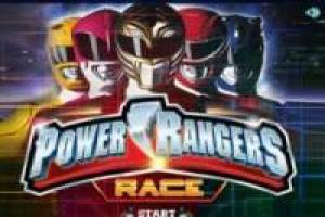 Motos: Carreras con los Power Rangers